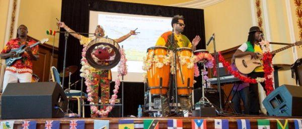 Caribbean Heatwave: London steel band