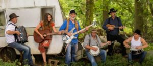 Full Band in Woods